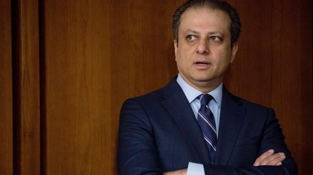 """FILE - In this  June 8, 2017, file photo, former United States Attorney for the Southern District of New York Preet Bharara arrives before former FBI director James Comey testifies at a Senate Intelligence Committee hearing on Capitol Hill in Washington. Bharara told USA Today for an article published on Sept. 18, 2017, that he is launching a new podcast called """"Stay Tuned With Preet."""" (AP Photo/Andrew Harnik, File)"""