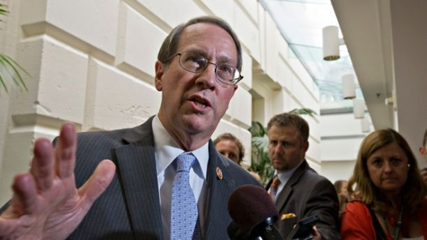 "FILE - In this July 10, 2013, file photo House Judiciary Committee Chairman Bob Goodlatte,R-Va., speaks with reporters after House Republicans worked on an approach to immigration reform in a closed-door meeting at the Capitol in Washington. A central question is whether the 11 million immigrants already in the US illegally should get a path to citizenship. ""We think a legal status in the United States, but not a special pathway to citizenship, might be appropriate,"" says Goodlatte. He has said that after attaining legal status, immigrants could potentially use the existing avenues toward naturalization, such as family or employment ties. (AP Photo/J. Scott Applewhite)"