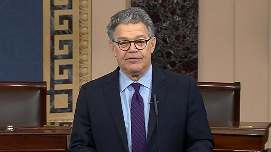 Sen. Al Franken's Senate floor announcement that he is leaving Congress amid mounting allegations of sexual misconduct is coming under fire by many for lacking an apology; analysis from Beverly Hallberg, president of the District Media Group, and Erin Delmore, senior political correspondent for Bustle.com.