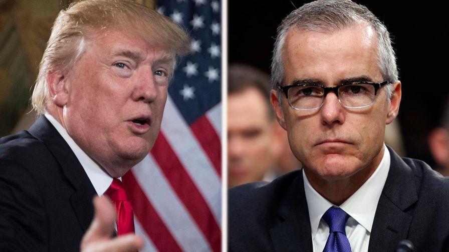 President takes to Twitter after report the FBI deputy director will retire in 2018.