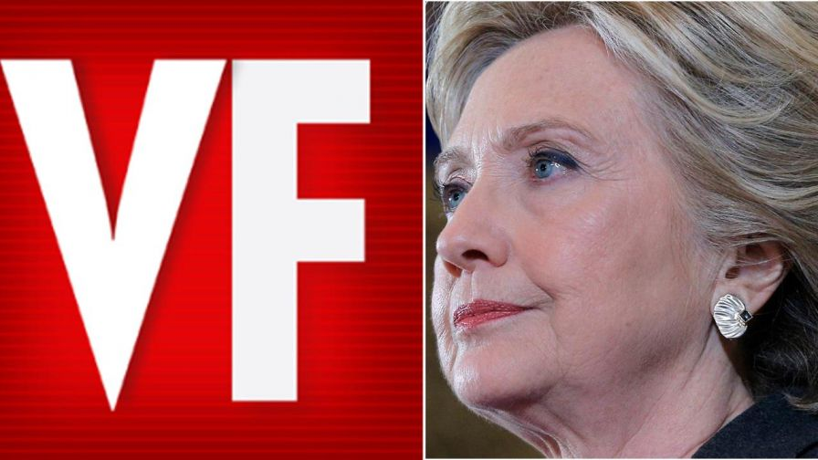Vanity Fair is under fire after posting an online video showing writers and editors sipping champagne while coming up with ways for Hillary Clinton to spend her time, now that she's no longer a presidential hopeful.