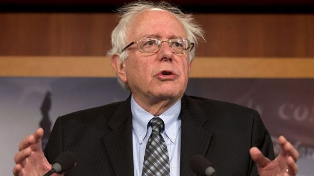 Sen. Bernie Sanders, I-Vt., speaks during a Dec. 6, 2012, news conference on Capitol Hill in Washington.