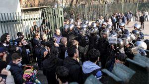 Anti-regime street protests grow, demanding democracy and freedom