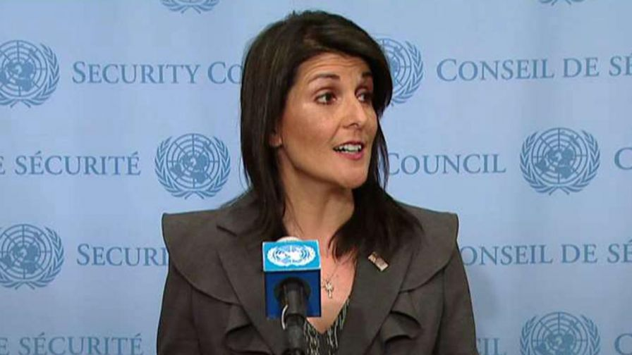 U.S. ambassador to the U.N. speaks about the deadly anti-government protests across Iran.