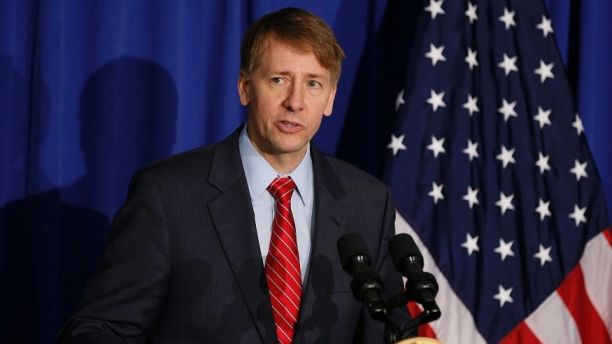 Consumer Financial Protection Bureau Director Richard Cordray speaks in Washington, October 17, 2014.       REUTERS/Larry Downing   (UNITED STATES - Tags: POLITICS BUSINESS) - GM1EAAI05RZ02