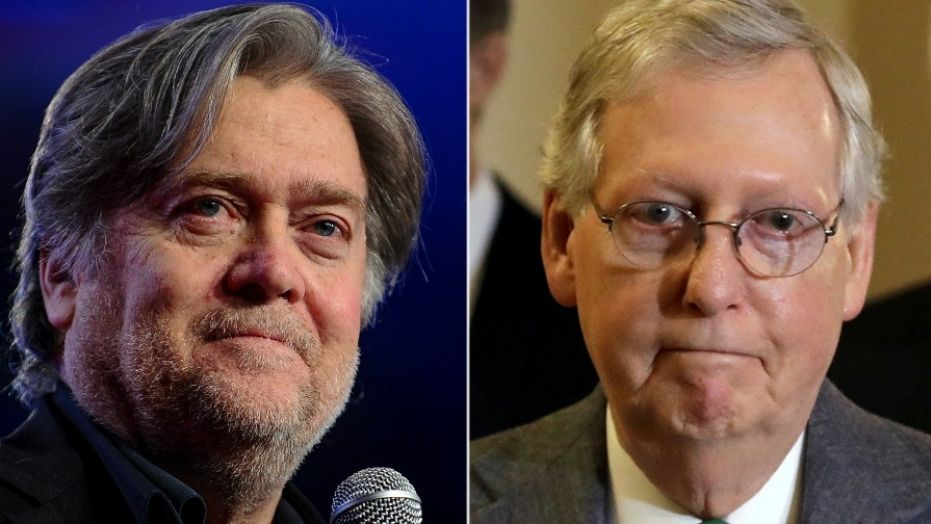 McConnell braces for new Bannon brawls in 2018