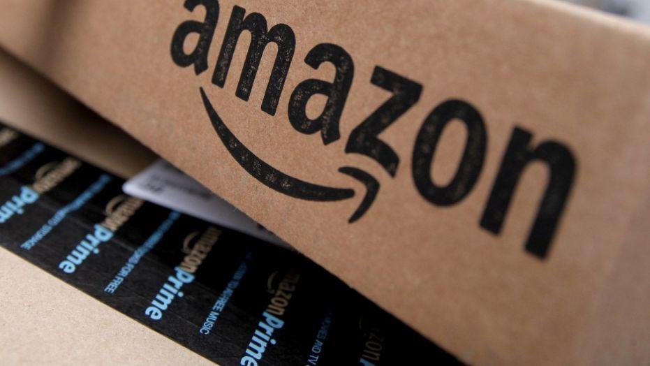 Amazon logo reuters