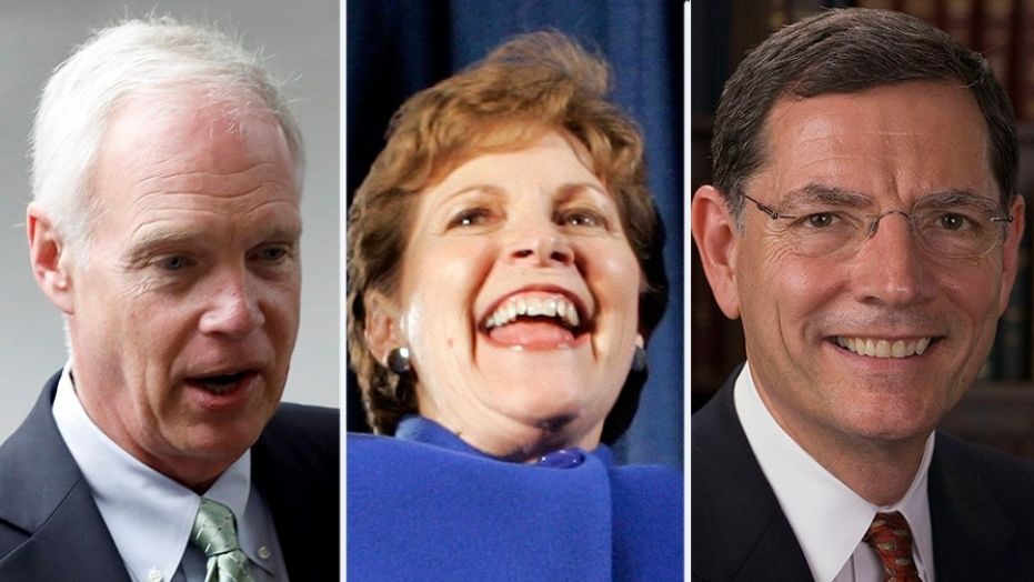 A bipartisan trip to Russia that included Sens. Jeanne Shaheen, Ron Johnson and John Barrasso, was canceled after Shaheen's visa requests was denied over a  'black list.""