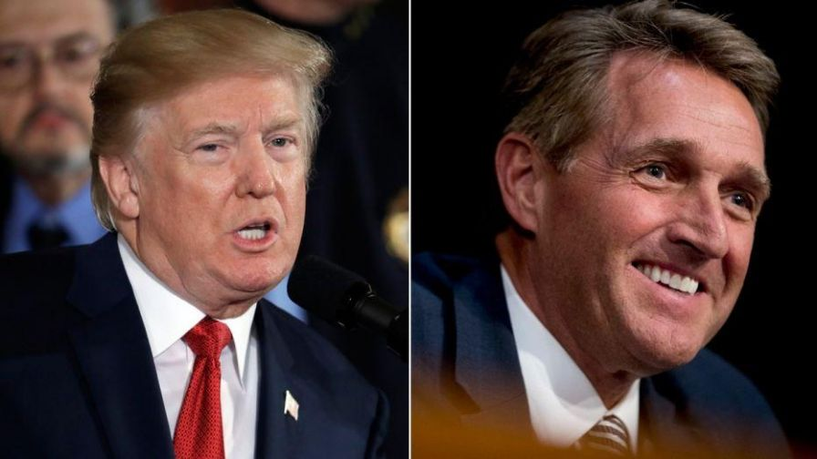 As the White House makes a big push for tax reform, a continuing feud between President Donald Trump and Republican Senator Jeff Flake comes at the worst possible time. After Trump tears into Flake over his hot mic comment, could the GOP lose his vote and put the bill in jeopardy of failing?