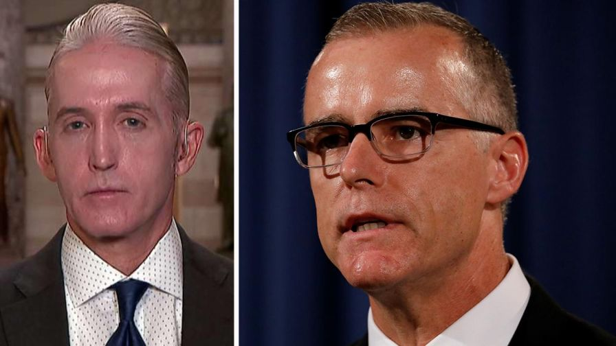 FBI's McCabe faces GOP calls for ouster, ahead of closed-door testimony