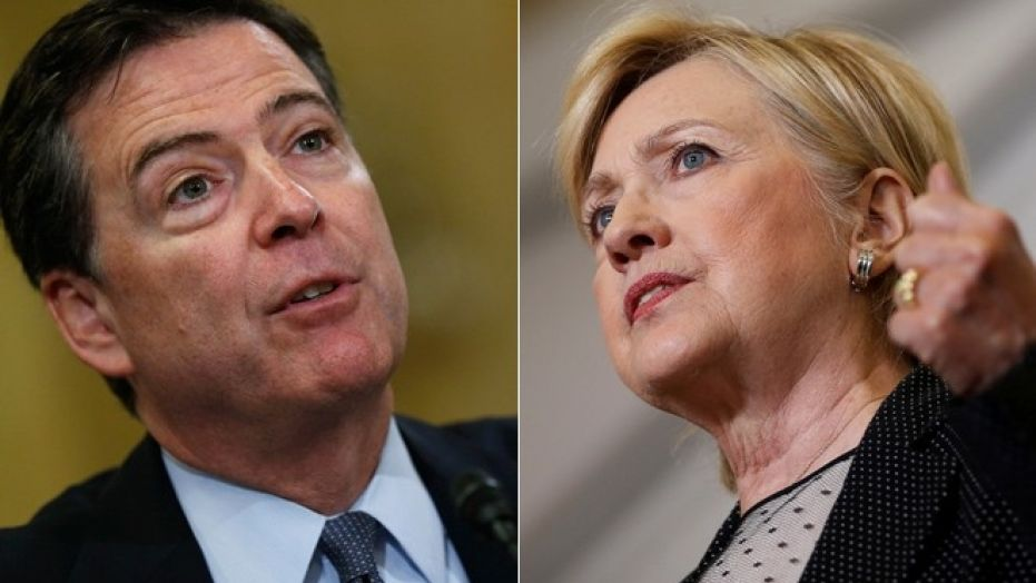Former FBI Director James Comey lead the investigation into former Secretary of State Hillary Clinton's private email server.