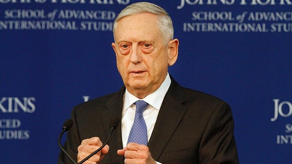 Mattis: US military advantage over China and Russia 'eroding'