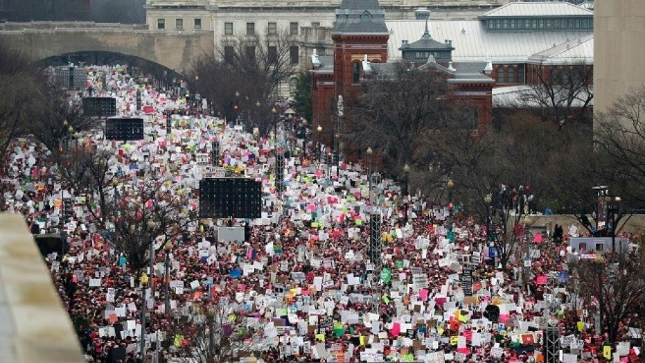 Marches are slated to take place in hundreds of cities both in the U.S. and beyond on Saturday.