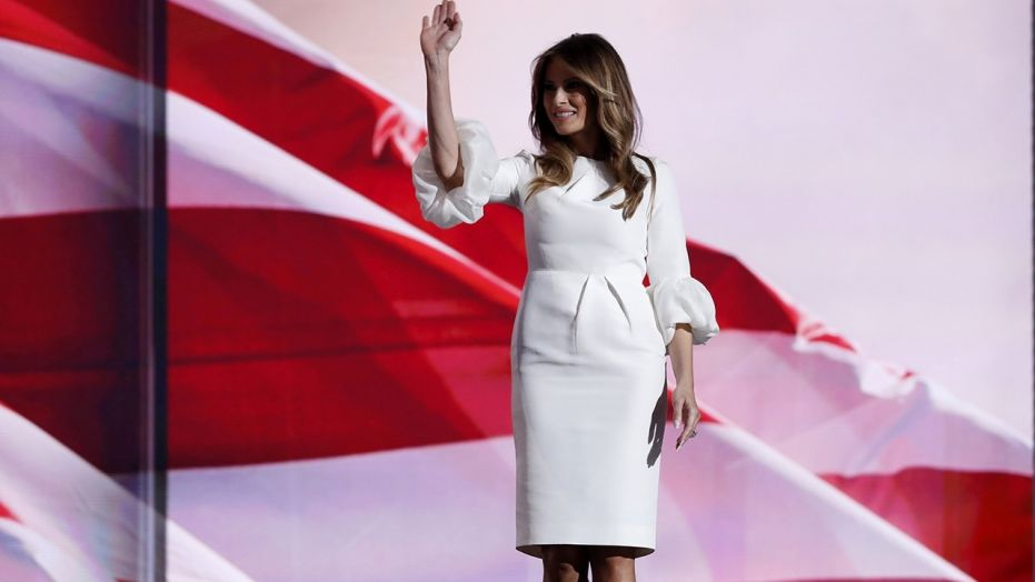 First lady Melania Trump says first year has been 'filled with many wonderful moments'
